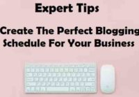 Perfect Blogging Schedule