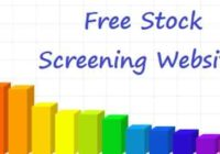 Websites for Stock Screening