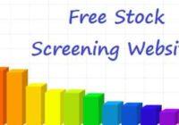 Websites for Stock Screening
