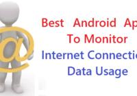 Internet Data Usage Apps