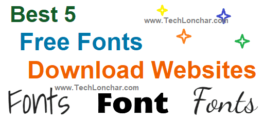 fonts download websites