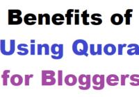 Quora for Bloggers