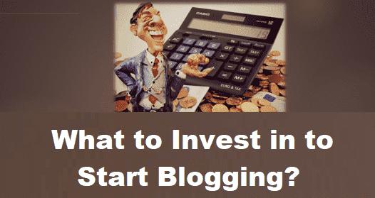 Invest Blogging